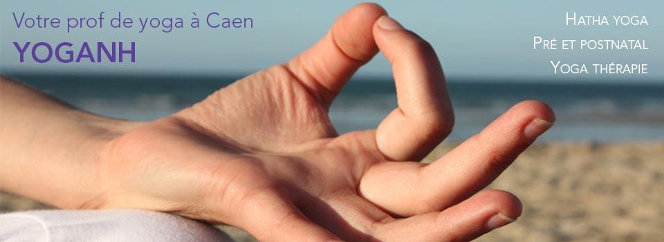 Votre prof de yoga à Caen : Yoganh